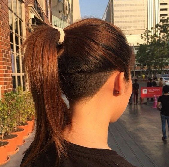 Pin By Rebecca Lynn On Hair Undercut Long Hair Hair Styles Long Hair Styles