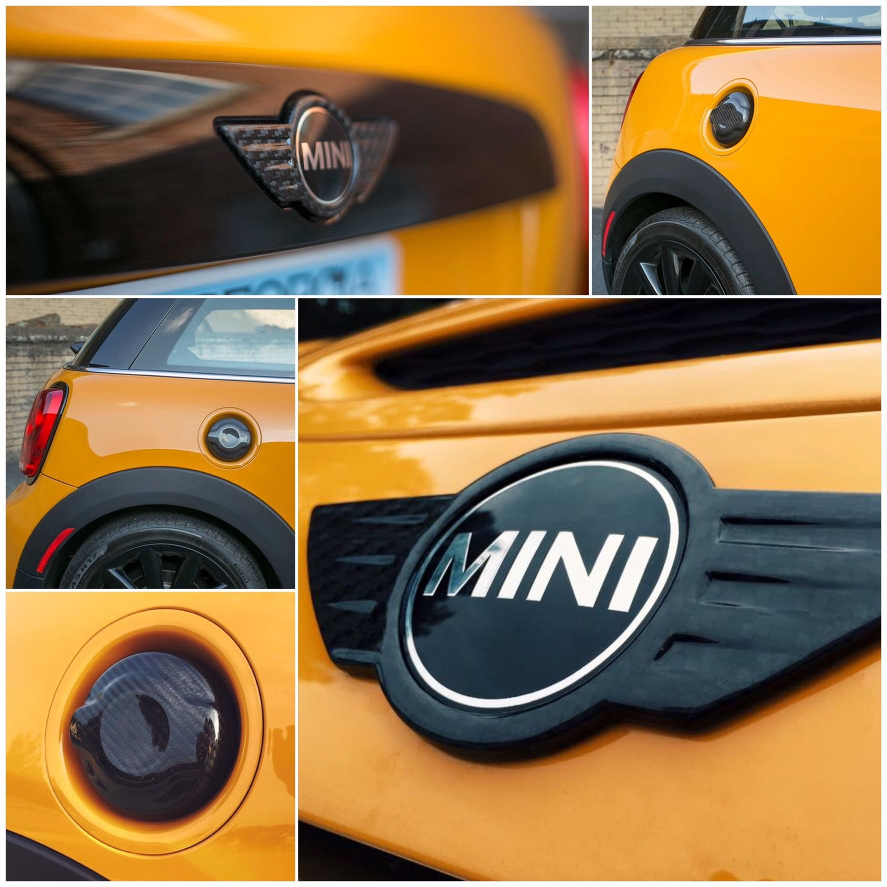 MINI 14 on Tailored Car Mats FRONT PAIR F56