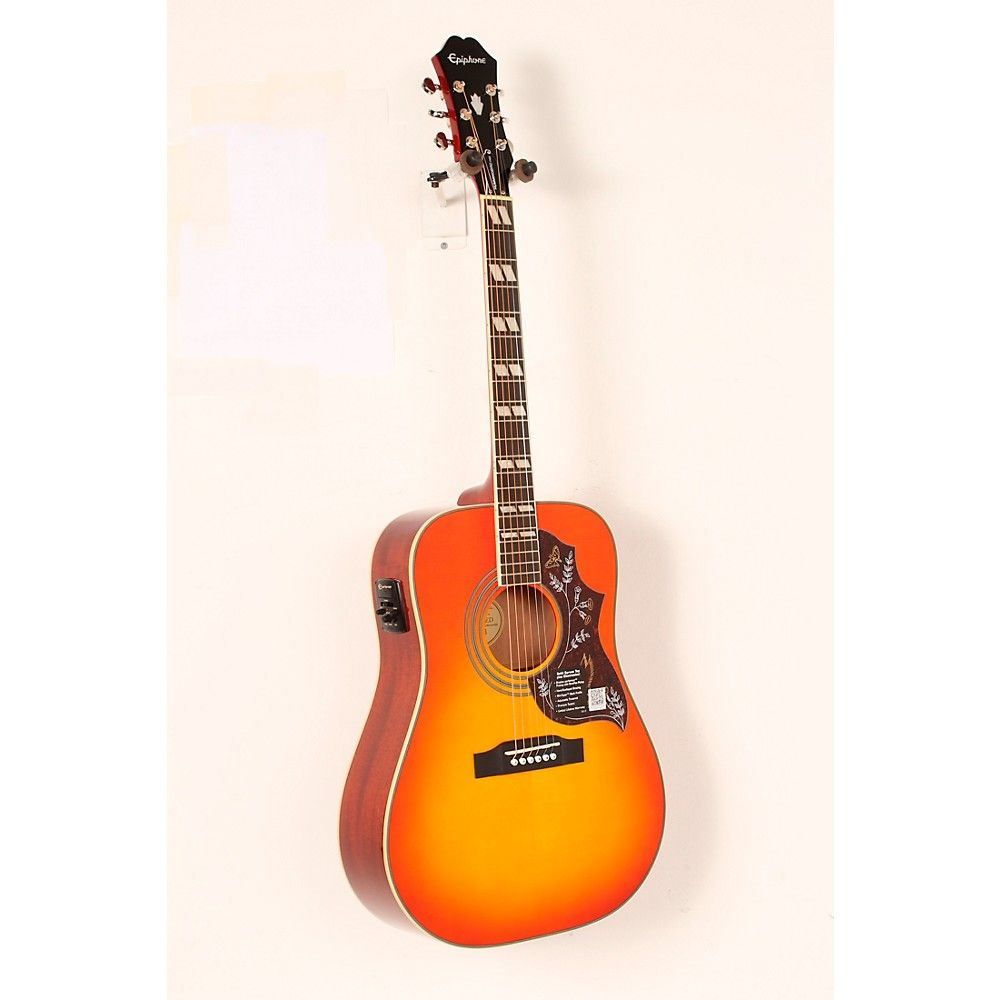 Hummingbird PRO AcousticElectric Guitar Faded Cherry (มี