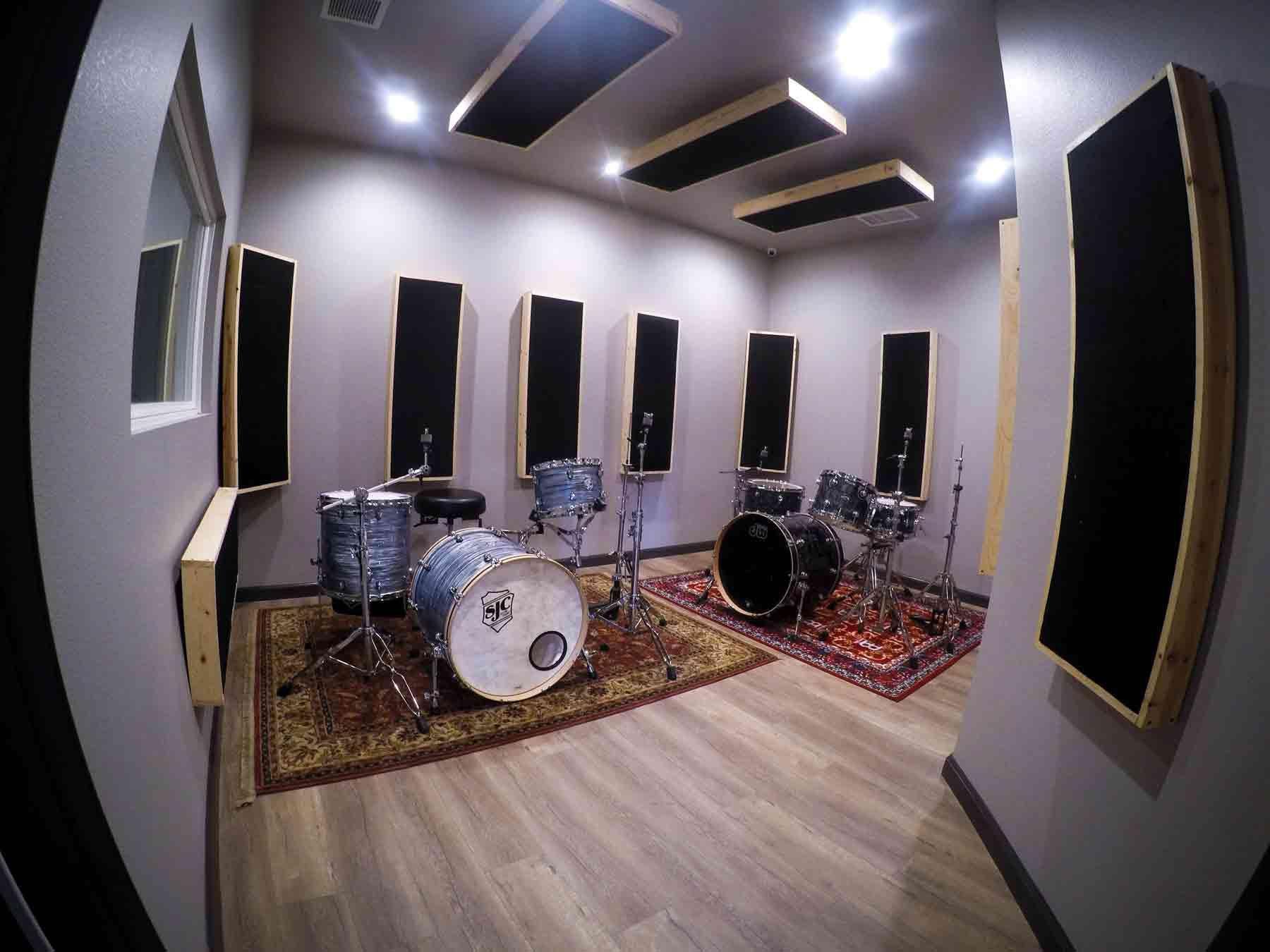 Drum Practice Rooms In Lafayette Ca Moderntone Studios Music Studio Room Drum Room Home Music Rooms