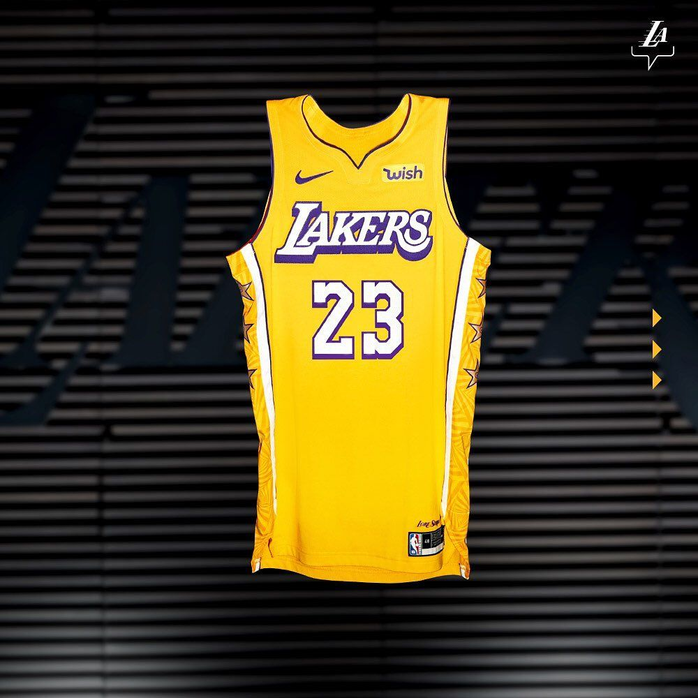 Los Angeles Lakers On Instagram Take A Detailed Look At The 2019 20 City Edition Uniform Designed By The Los Angeles Lakers Basketball Clothes Uniform Design