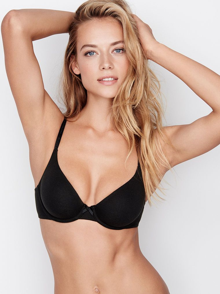 cf8ccbe4c3f52 Unlined Perfect Coverage Bra - Cotton Lingerie - Victoria's Secret ...