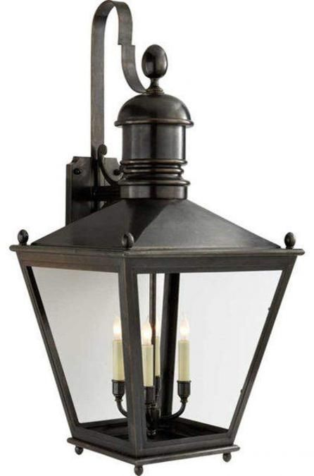 Outdoor lights lanterns in vintage style