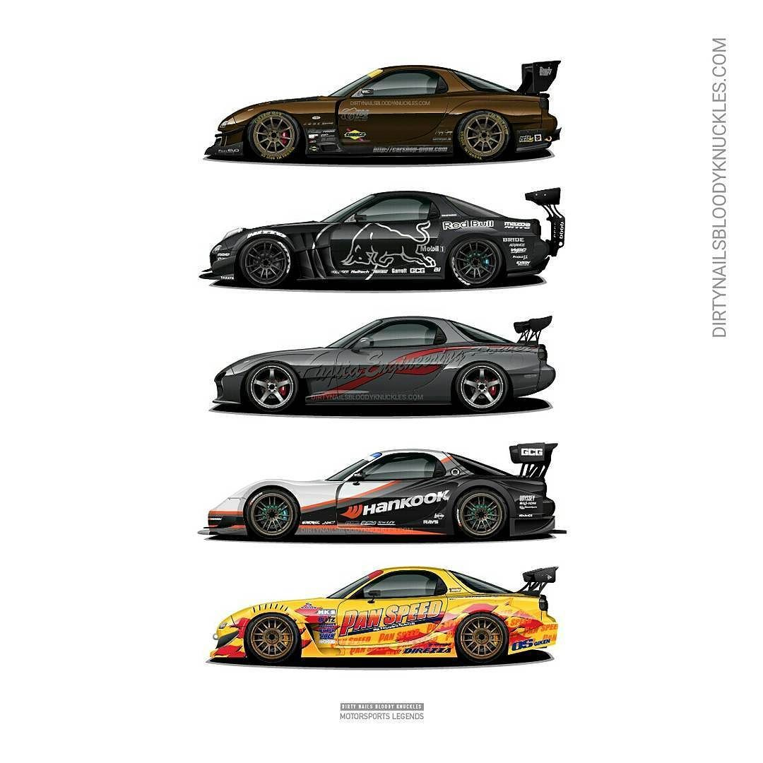Rotary Motorsport Legends Artwork Prints Available At
