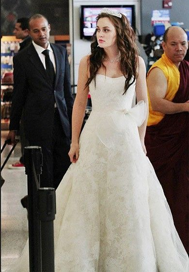 Stars Classic Wedding Dress Looks In Tv Drama Celebrity Wedding Dresses Gossip Girl Outfits Gossip Girl Fashion