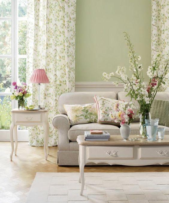 Wohnideen Wohnzimmer-ein Ruhiges Gefühl Durch Die Farbe