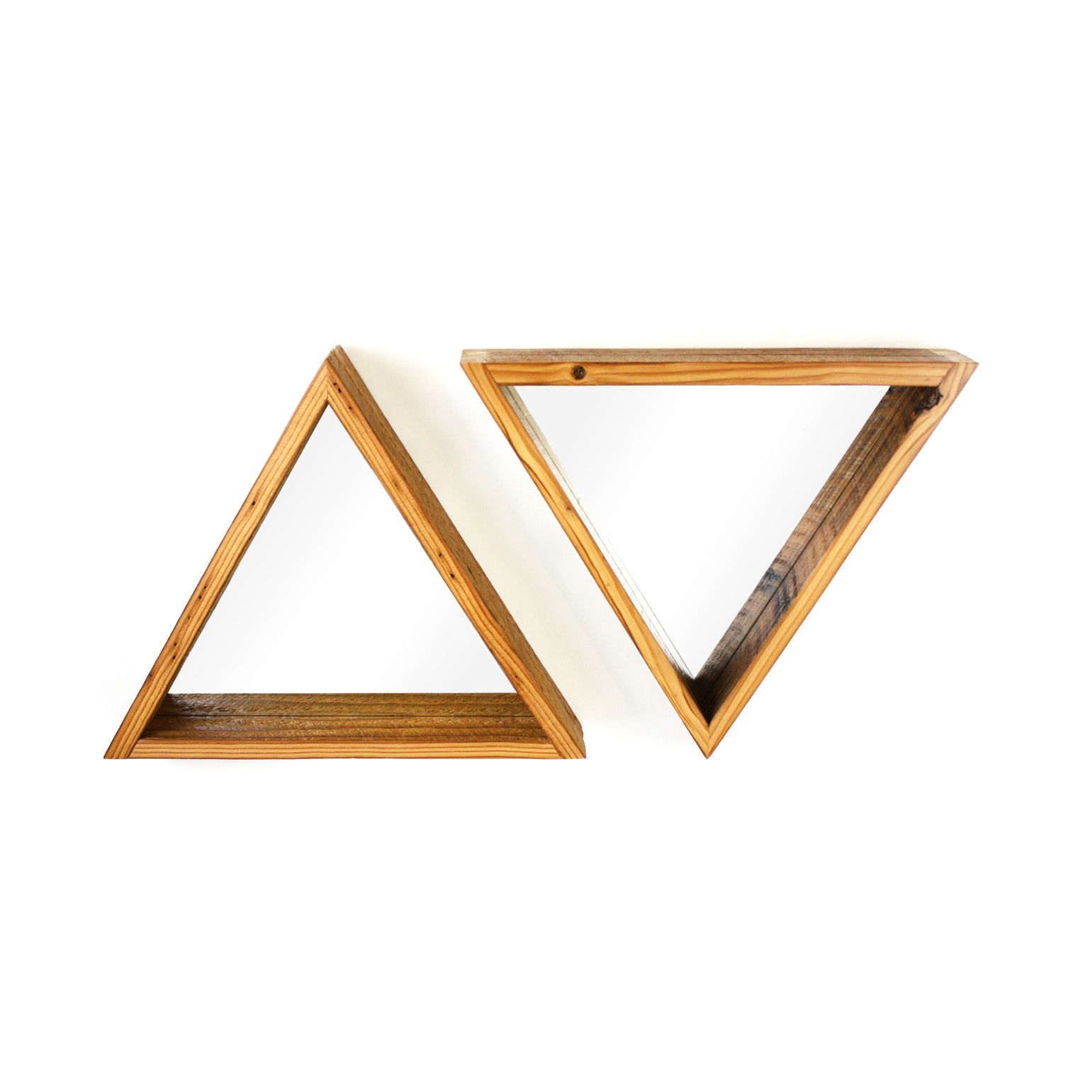 Triangle objects at home the image kid for Marcos de espejos