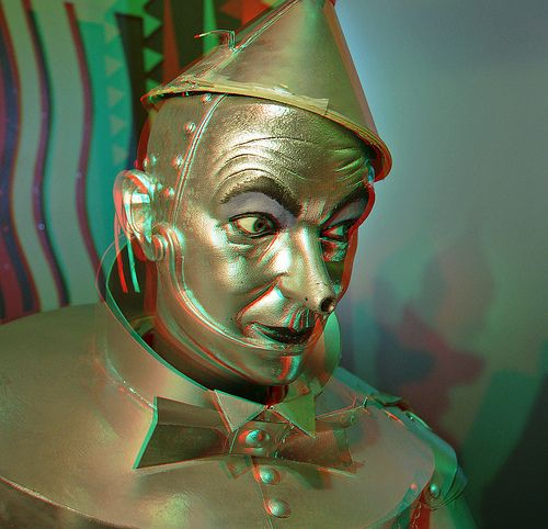 Tin Man (Anaglyph 3D) | Flickr - Photo Sharing!