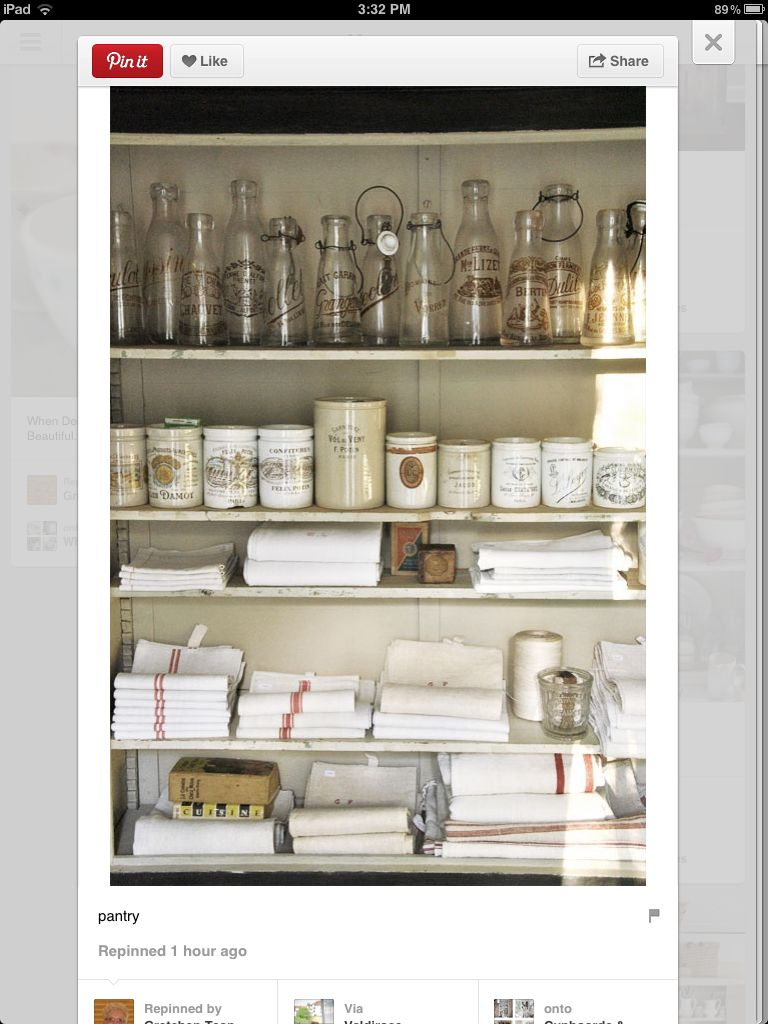 Neat and tidy collecting pinterest pantry kitchen and home