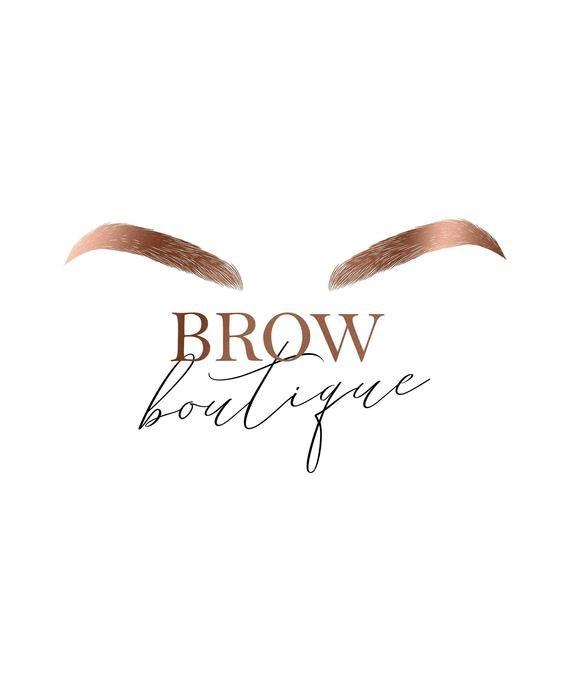 Photo of Brows Logo, Microblading Logo, Eyebrows, Salon, Makeup Artist