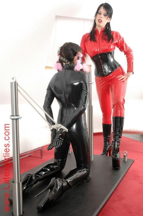 Lesbian Strapon Bondage Slave