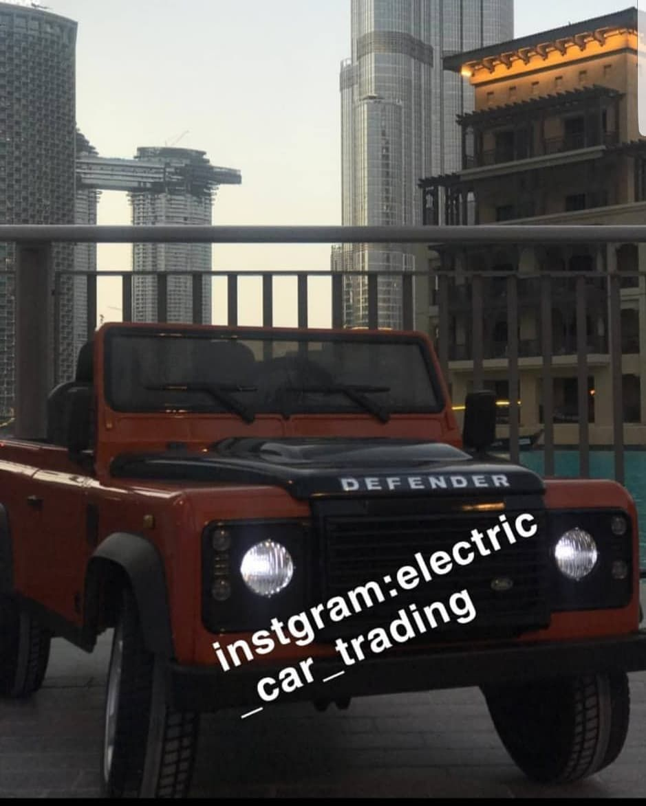 اعلان نستقبل طلبات سيارات اطفال لاندروفر ديفندر على الخاص الألوان المتوفرة أبيض برتقالي أخضر المواصفات ريموت كنترول للتحكم إما ق In 2020 Car Electric Car Suv