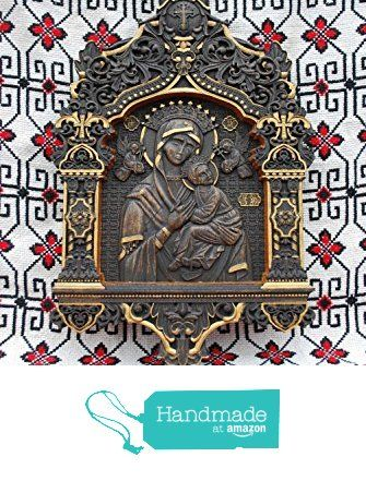 Our Lady of Perpetual Help Dark Icon Durable unique christian gift ...