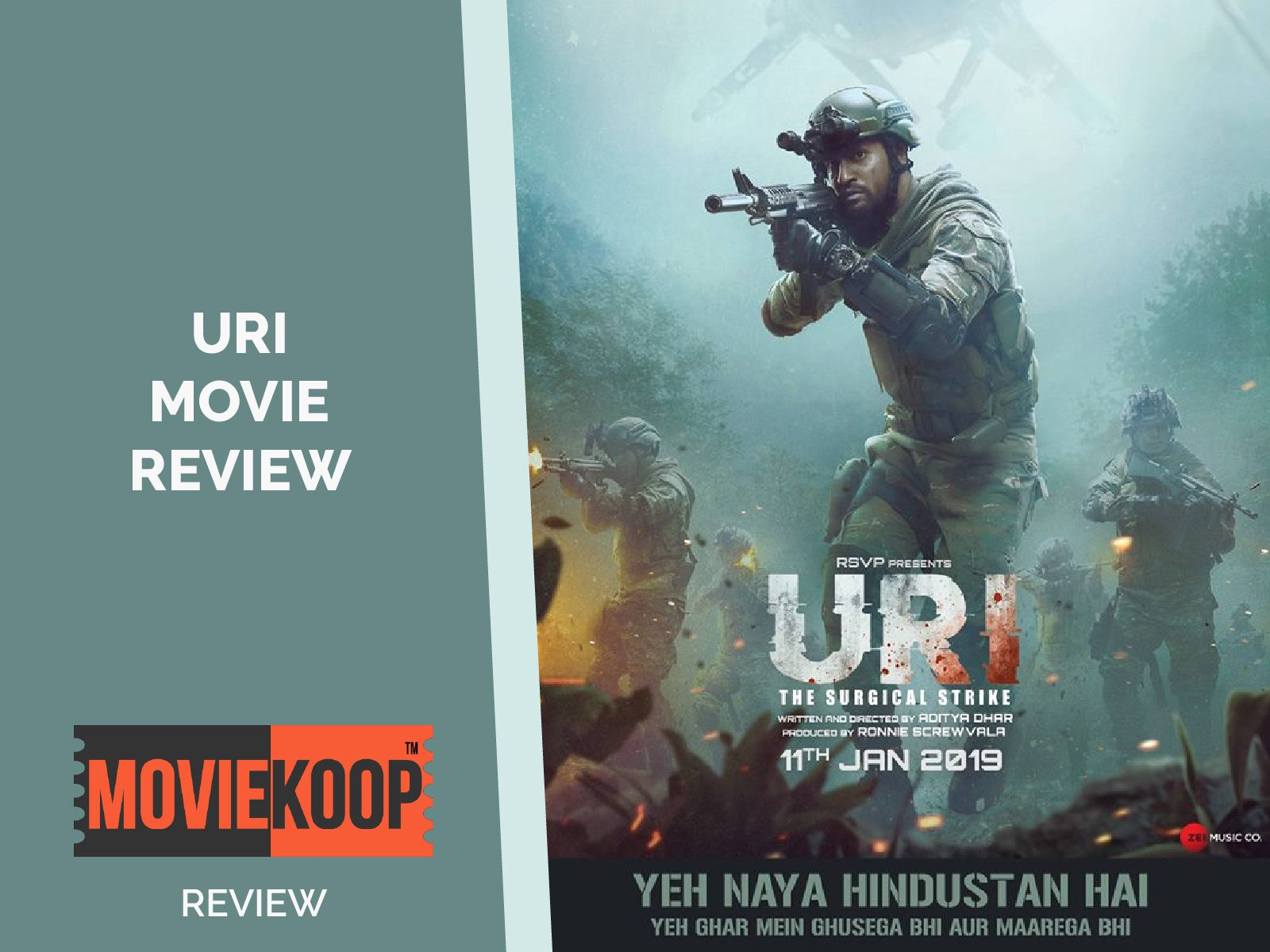 Uri stars Vicky Kaushal and Yami Gautam in the lead  The