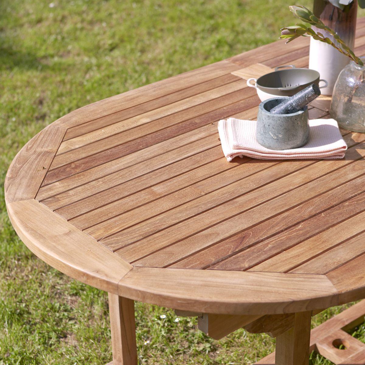 Tavolo Allungabile Legno Esterni.Tavolo Da Giardino In Teak 180 Capri In 2020 Outdoor Tables
