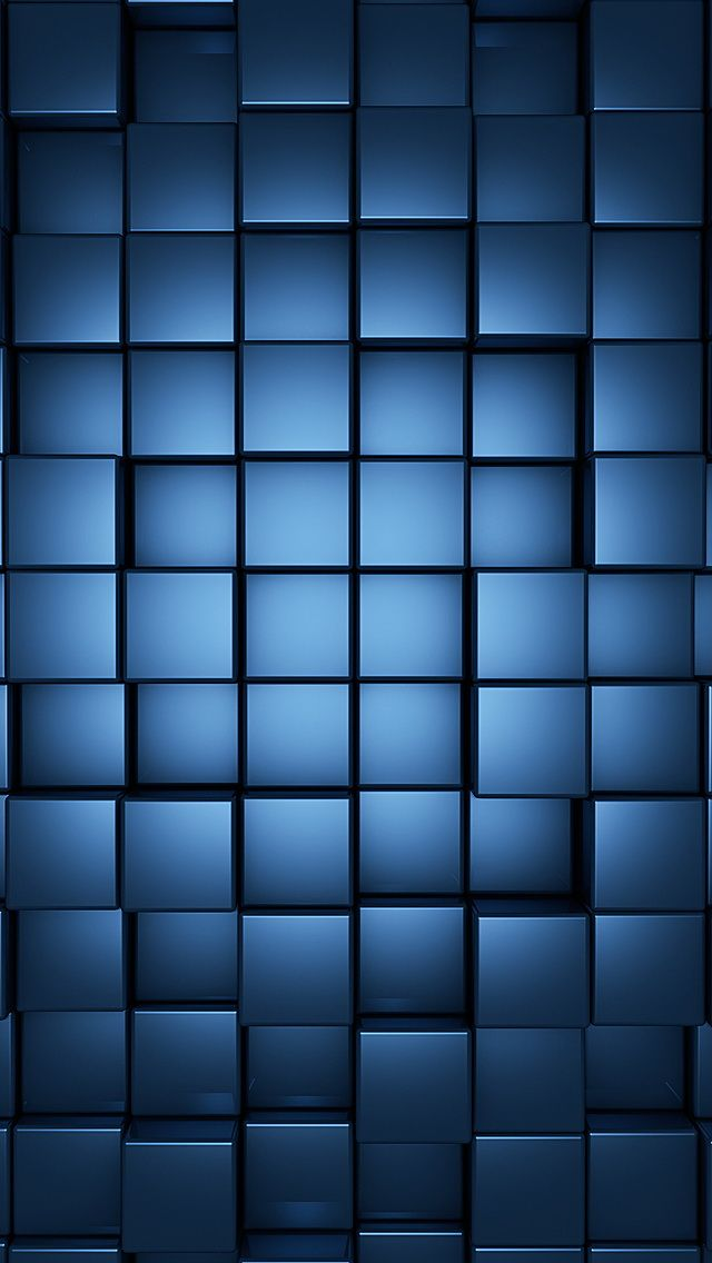 3d Blue Neon Cubes Gallery Wallpaper Iphone Neon Geometric Wallpaper Iphone Iphone 5 Wallpaper