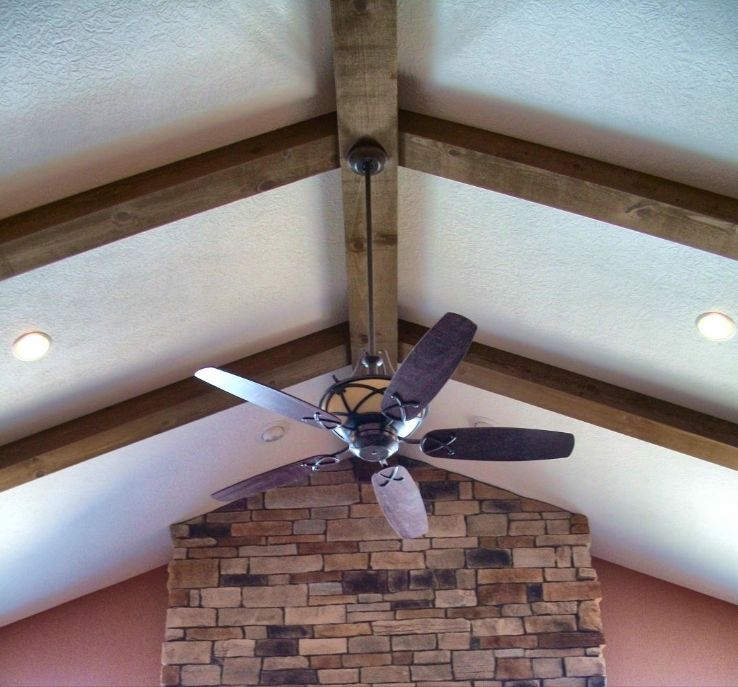 Ceiling beams dream big pinterest beams ceilings for Vaulted ceiling with exposed beams