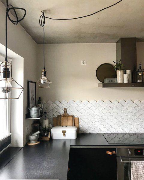 Küchen-Makeover Wandfliesenspiegel Teil 1: Drei