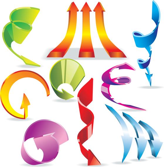 Vector Colorful Dynamic Arrow #AD , #Sponsored, #Affiliate, #Colorful, #Dynamic, #Arrow, #Vector