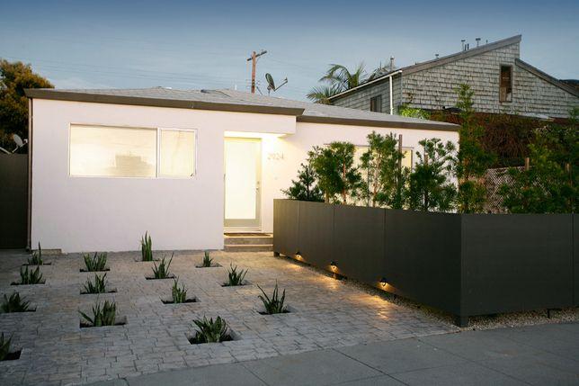 Mid Century Modern inspired house exterior - B R I C K H O U S E