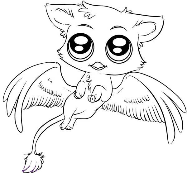 cute animals coloring pages free coloring pages of cute animals - Cute Animal Coloring Pages