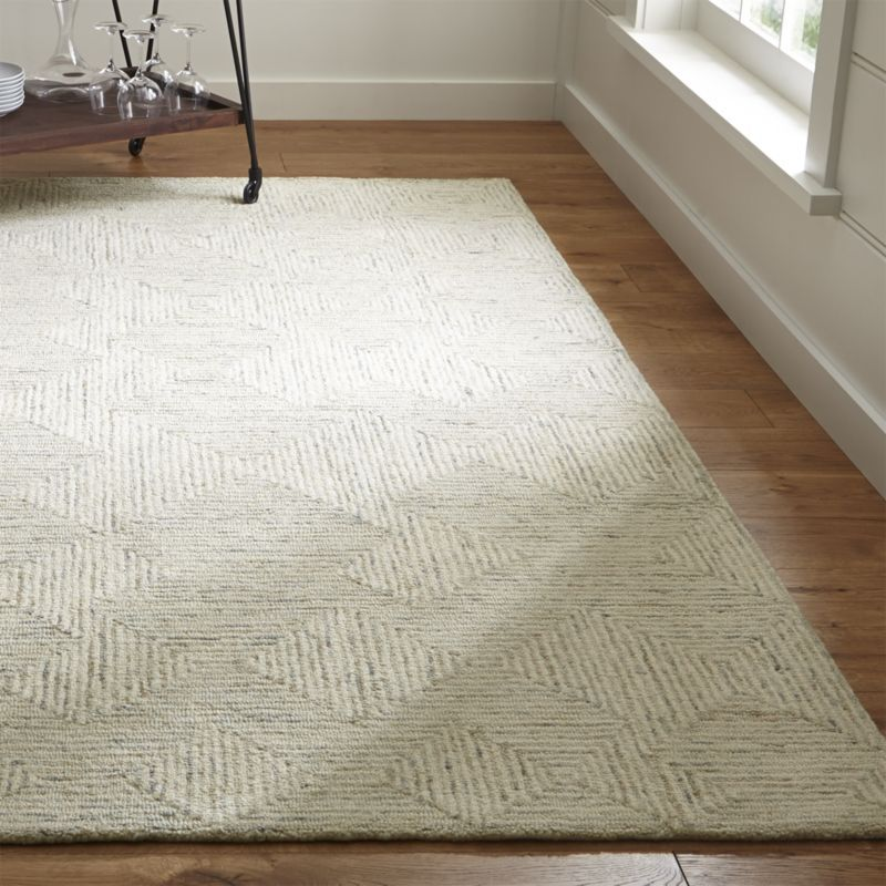 Presley Neutral Heathered Rug Crate And Barrel Neutral Rug Living Room Rugs In Living Room Neutral Area Rugs