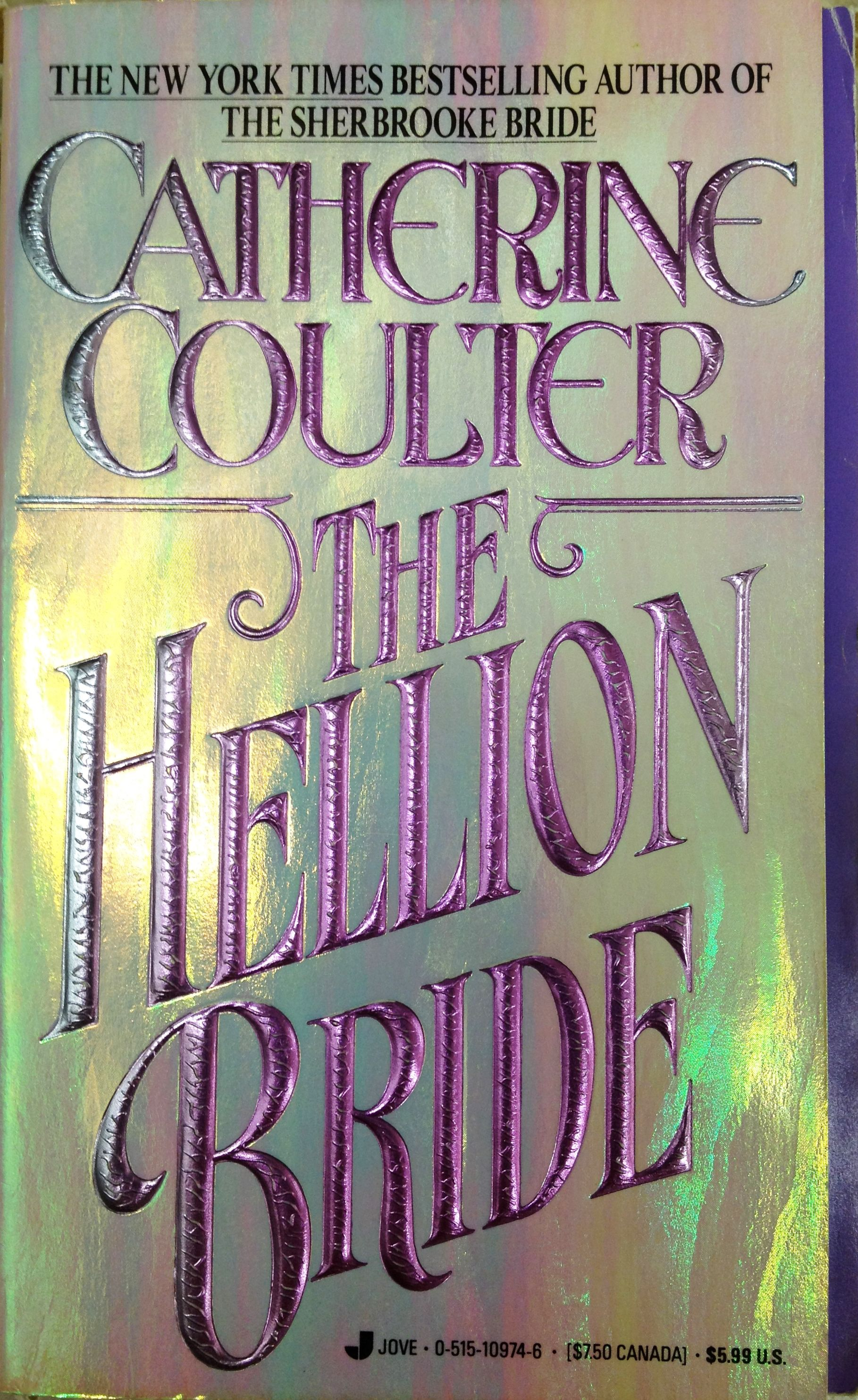 Catherine Coulter Libros The Hellion Bride Catherine Coulter Magazine Book Album Covers