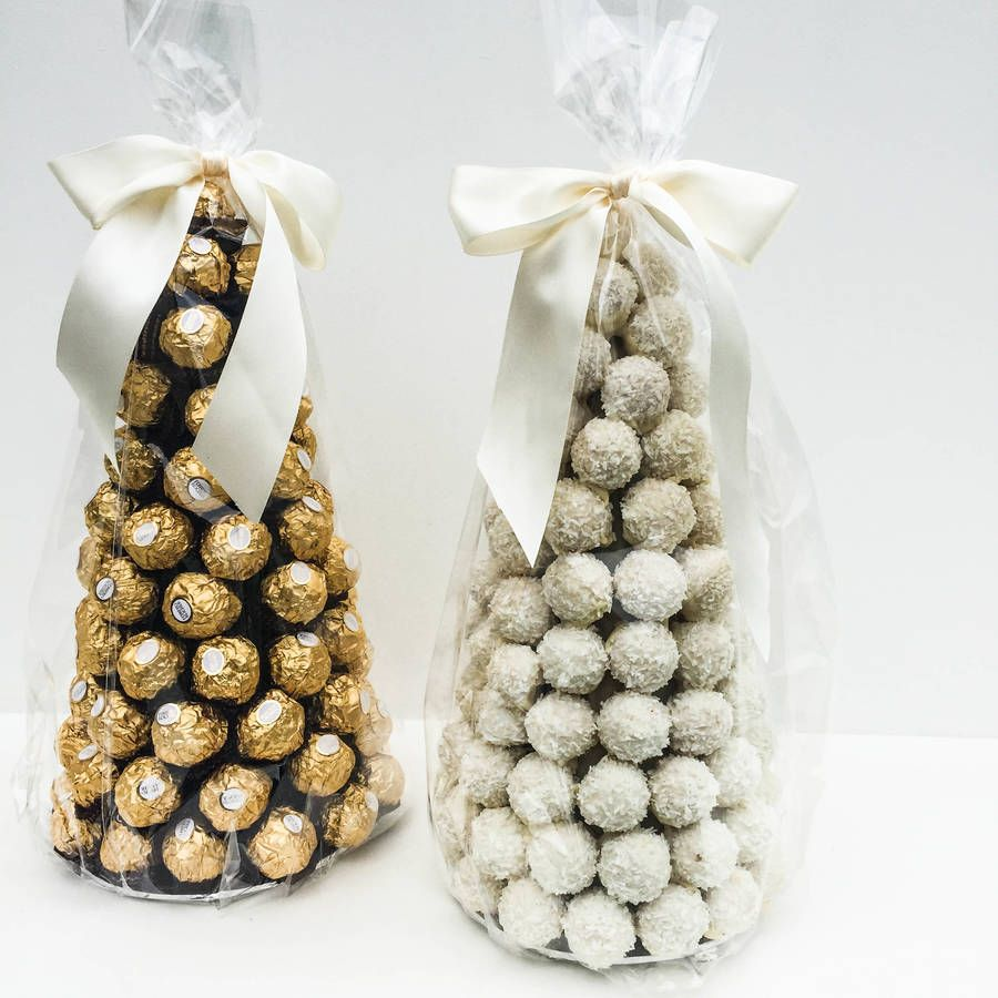 Ferrero Rocher Tower Chocolate Centre Piece | Tower, Chocolate and ...