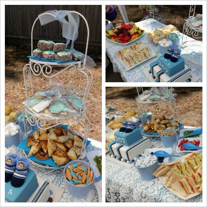 Boy Baby Shower Food Ideas