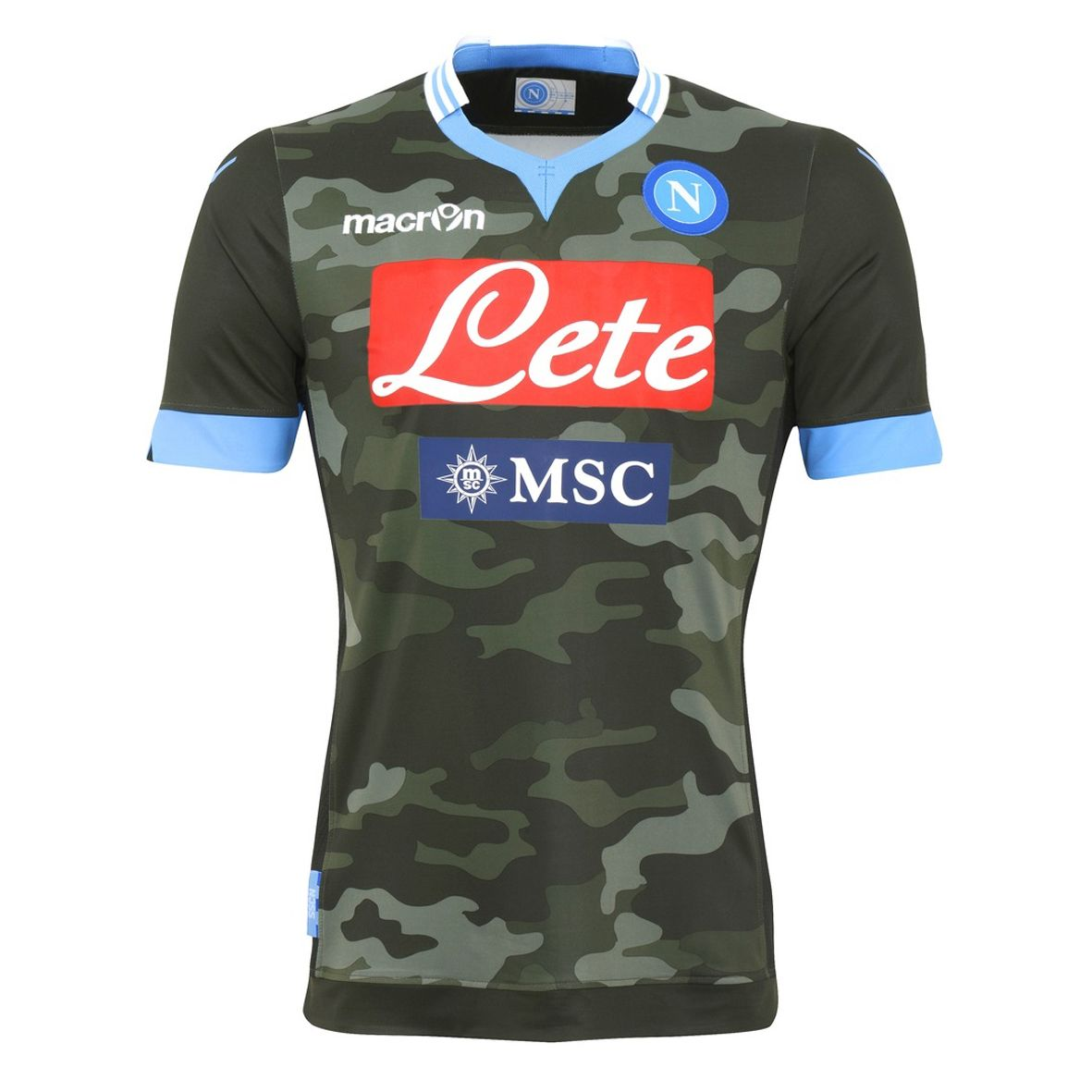 AWAY GREEN JERSEY REPLICA SSC NAPOLI 2014  510223eac