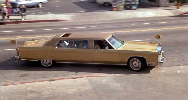 1974 Lincoln Continental Executive Limousine By Moloney Standard