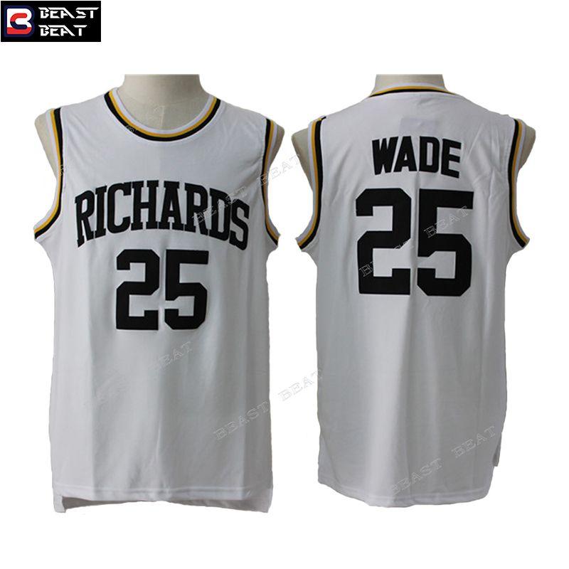 a91d2a0f9 ... spain dwyane wade 25 richards high school basketball jersey throwback  cheap original nba jerseys 03a62 f5d4b