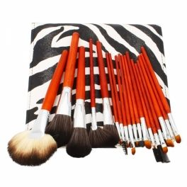 This SWAG 18pcs Professional Cosmetic Makeup Brush Set with Leopard Bag Brown cosmetic makeup brush will be your best asset. It contains different brushes for your various needs. Buying this makeup brush set is much more economical than buying different brushes separately. The makeup brush set is so compact and portable that you can carry it when you are travelling or on a trip. With soft and superior material. It is good choice for each wise consumer. shopswagstore.com