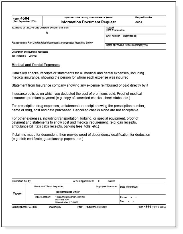 Irs Audit Letter Hyfyhab Nuzewyl Audit Notice Legal Documents