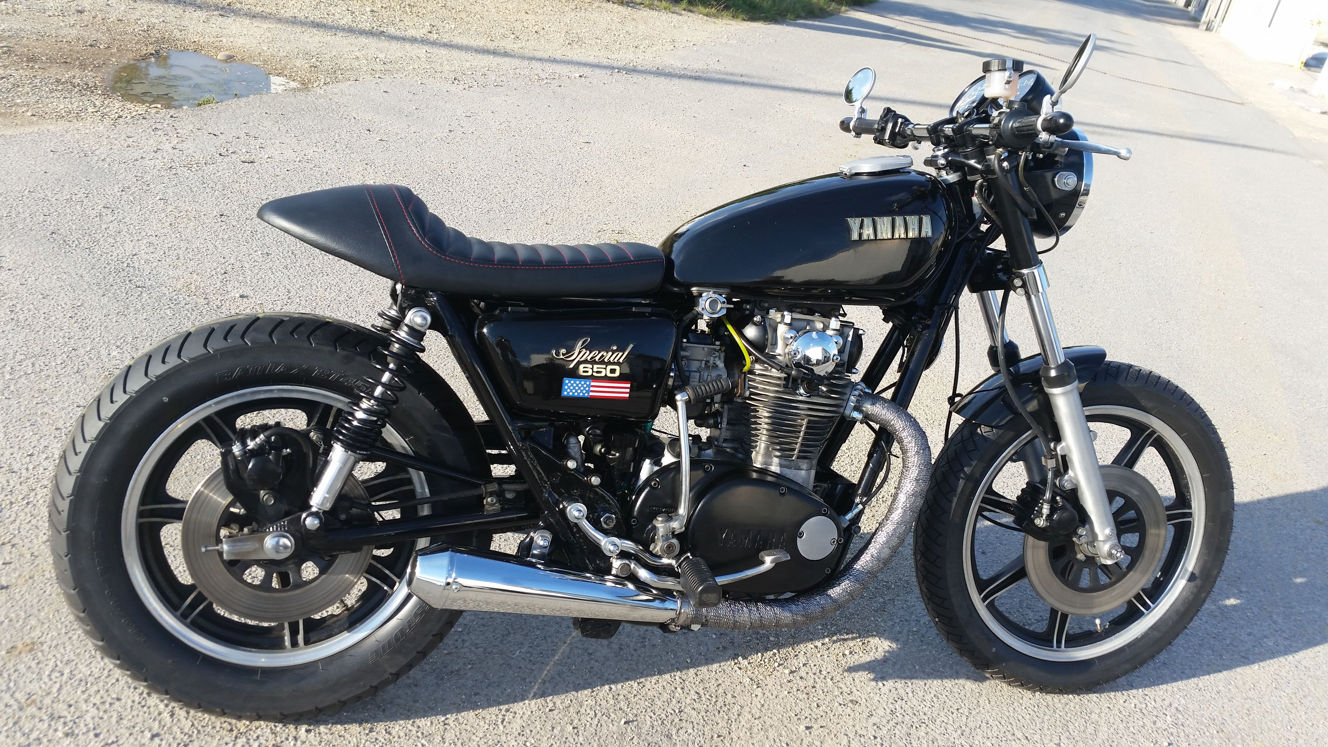 yamaha xs 650 cafe racer bikes 39 n 39 more und. Black Bedroom Furniture Sets. Home Design Ideas