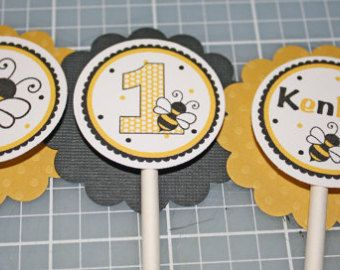 Items Similar To Bumble Bee Black And Yellow Gumball Tube Favors