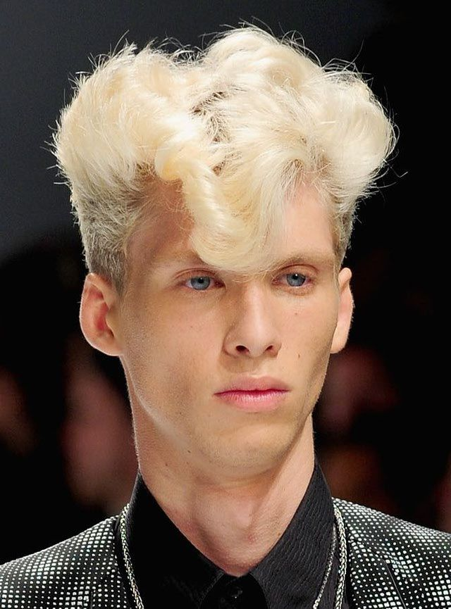 Men S Hairstyles High Fashion Hairdos That Flop Mens Hairstyles Hair Styles 80s Hair