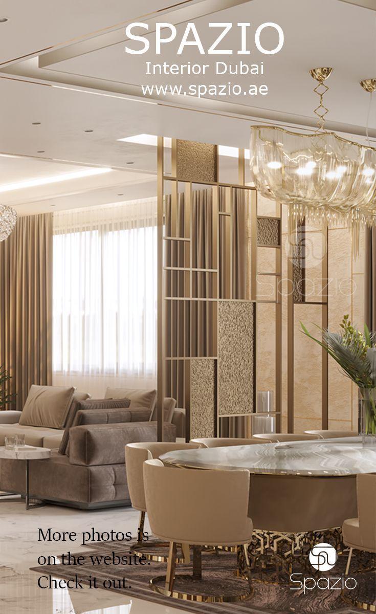 luxury villa interior design for living room from Spazio Interior ...