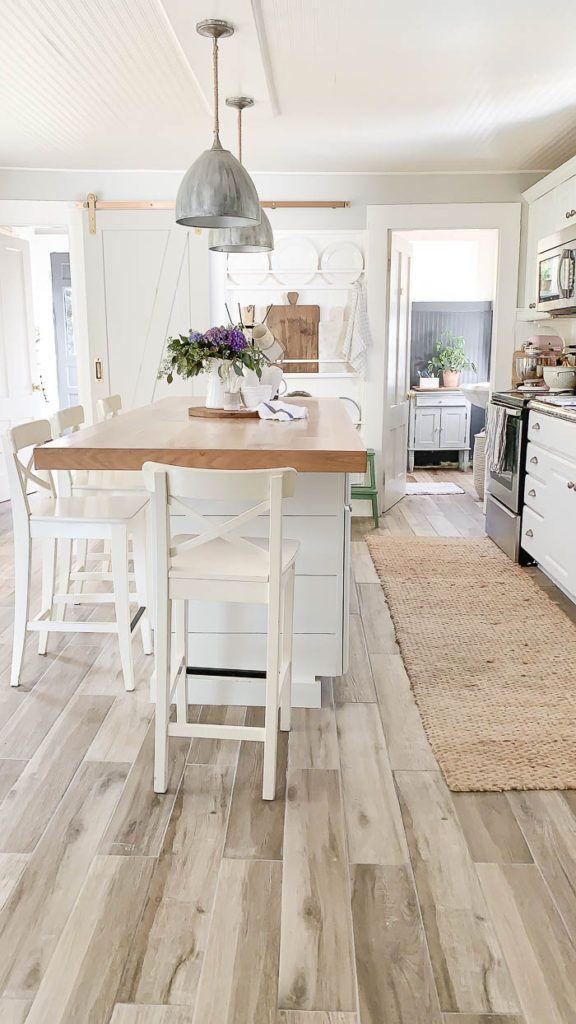 New Kitchen Floor Reveal   Kitchen flooring, New kitchen ...