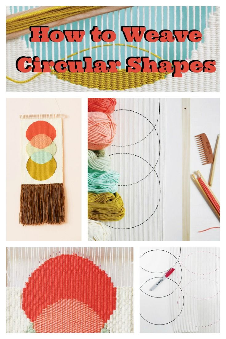 47e95be58f Learn to weave circular shapes on a tapestry loom and sneak a peek at  Handwoven s Tapestry Weaving Starter Kit!