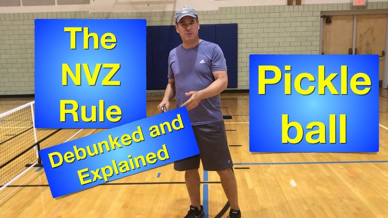The No Volley Zone Or Kitchen Rule Debunked Explained And Repackaged Youtube Kitchen Rules Pickleball Rules