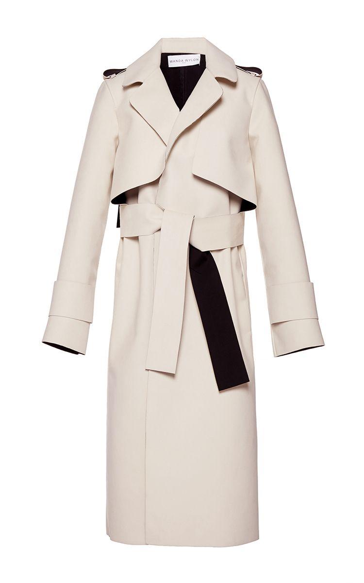 Holly Long Wrap Coat by Wanda Nylon | Moda Operandi