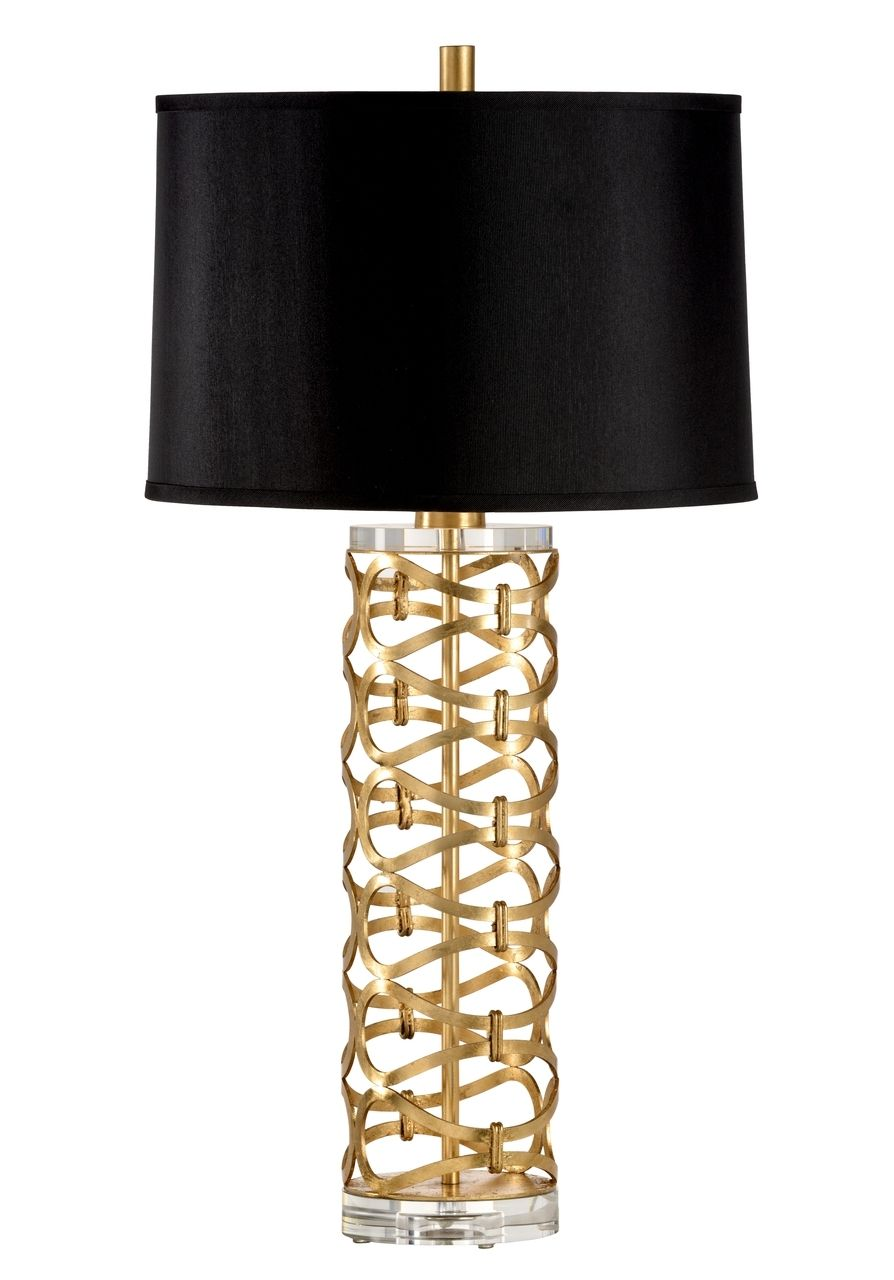 Dazzling Lamp Gold by Wildwood Lamps