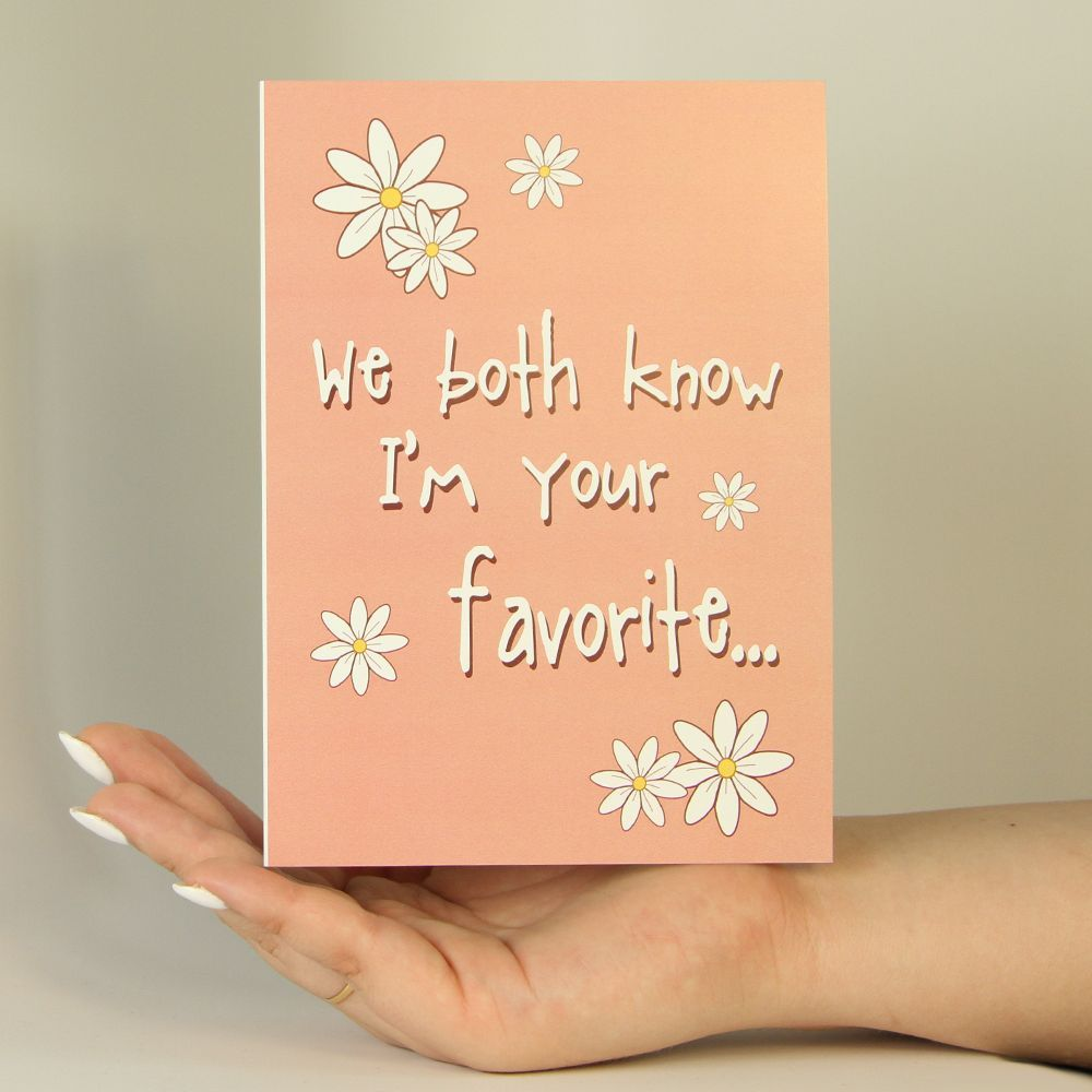 We Both Know Funny Mothers Day Greeting Card Americangreetings