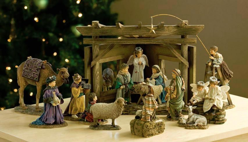 The Mama Says Nativity Set Is A Sweet Resemblance Of What
