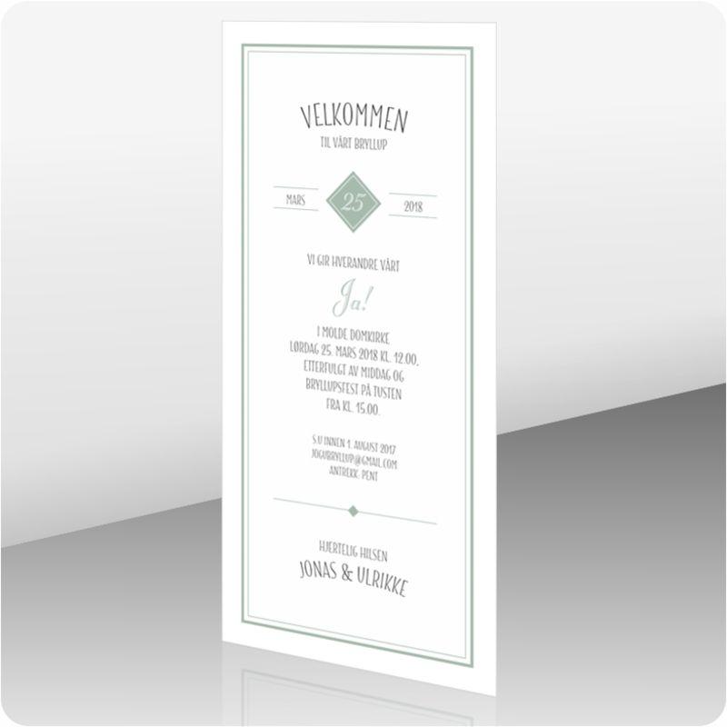 14f0d41d Invitasjon bryllup, 112171   Bryllup   Bryllup, Invitasjon og Design