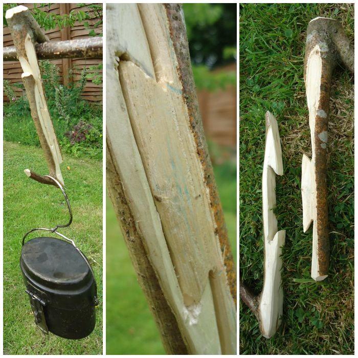 Bushcraft Survival Skills: Bushcraft/Woodcraft Pot Hangers