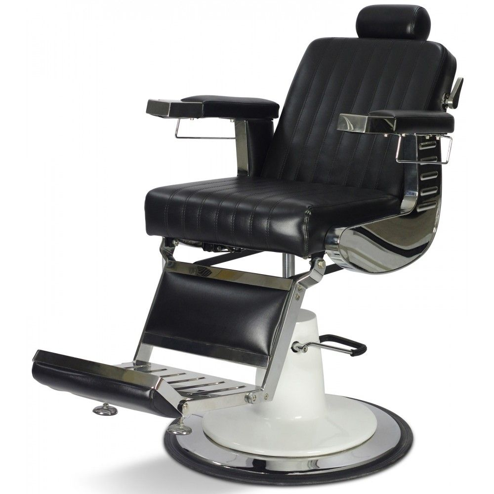 Grant vintage reclining hair salon barber chair with