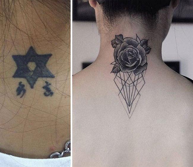 tatouage raté parfaitement recouvert | tatouages | tatouage