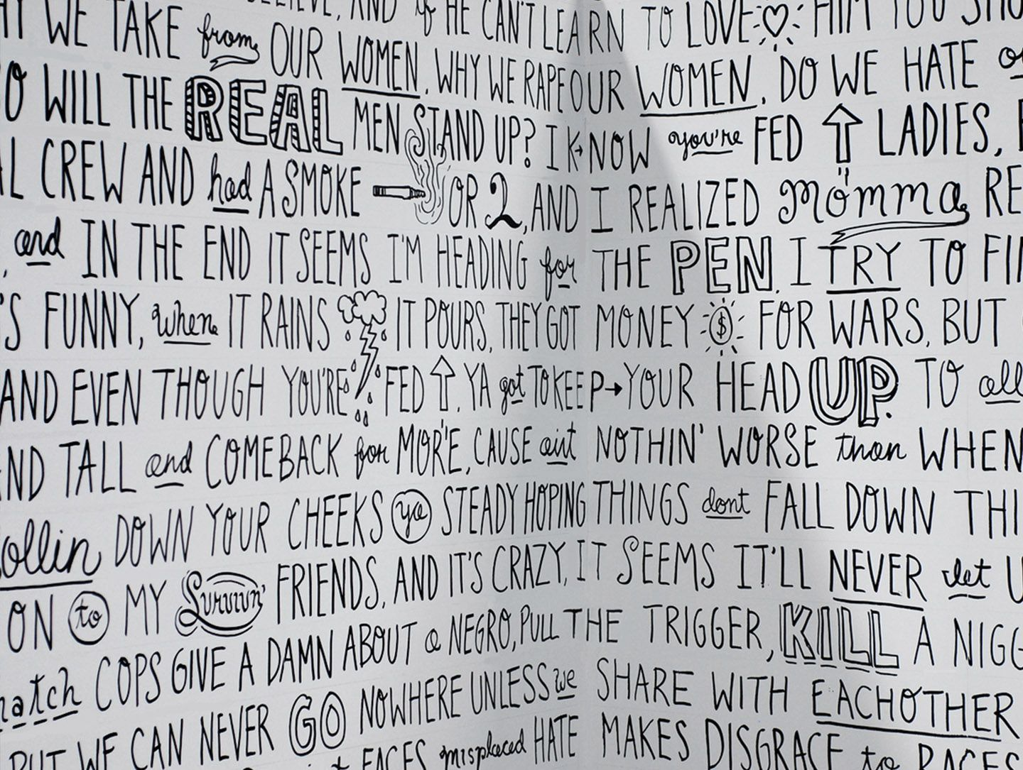 flexfit 2pac mural by timothy goodman typography design flexfit 2pac mural by timothy goodman
